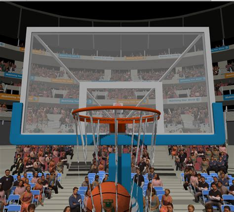 basketball interactive c unity3d interactive cloth basketball net falling