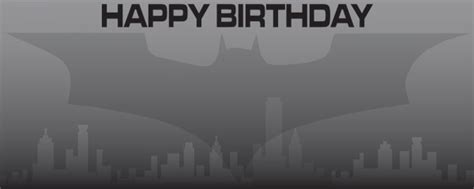 happy birthday batman design batman the knight birthday personalised banner partyrama