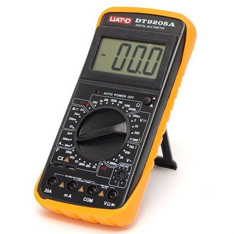 dt9205a digital multimeter voltmeter ohmmeter ac dc