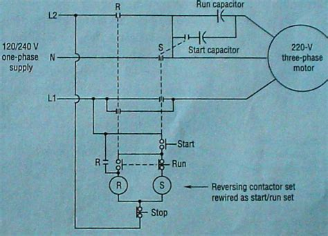 120 volt capacitor start motor wiring 28 images how