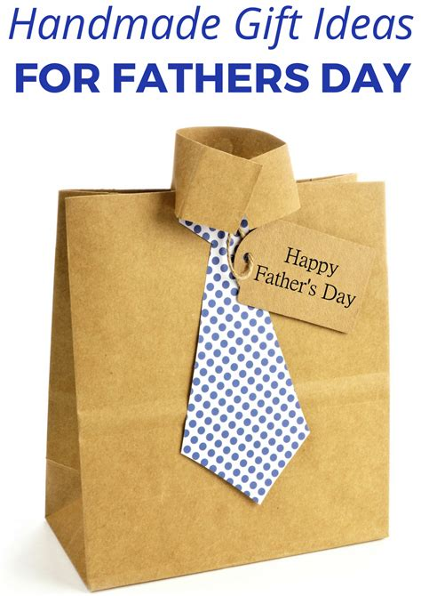 Handmade Fathers Day Presents - handmade fathers day gift ideas in the madhouse