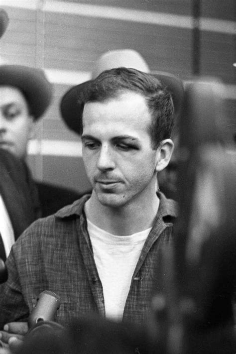 11-22-63: Lee Harvey Oswald at a news conference at Dallas