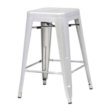 Stacking Counter Height Stools by Indoor Outdoor Backless Stacking Counter Height Bar Stool