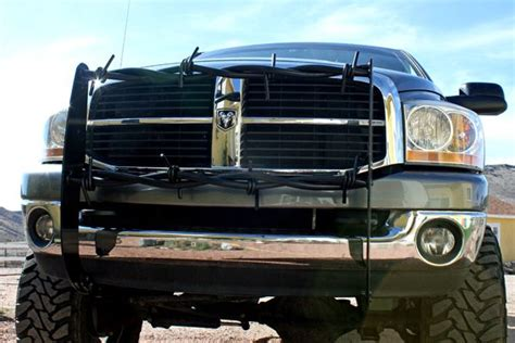 barbed wire cave creek designs truck grill gaurd diesel