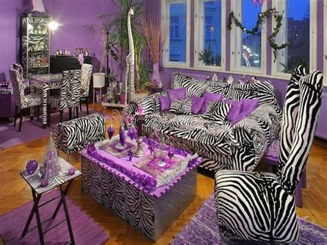bloombety zebra living room decorating ideas zebra room