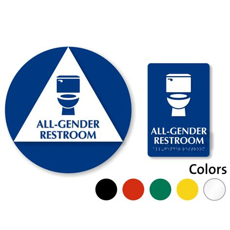 all gender bathroom sign all gender restroom signs transgender restroom signs