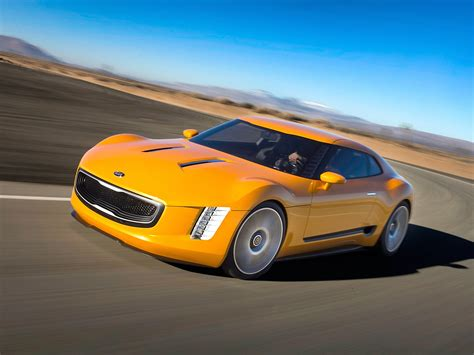kia supercar 2014 kia gt4 stinger concept supercar wallpaper