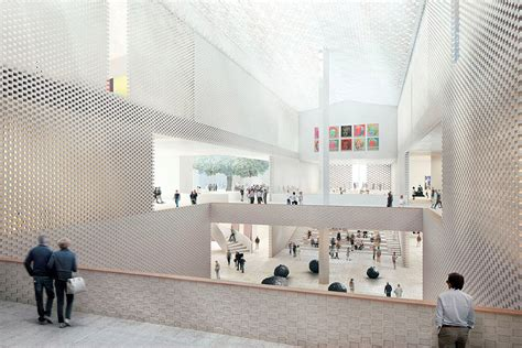 design museum competition 2016 winning design for berlin museum of the 20th century