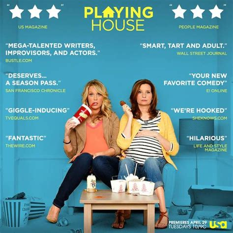 usa playing house lennon parham and jessica st clair make comedy happen for the new usa network show