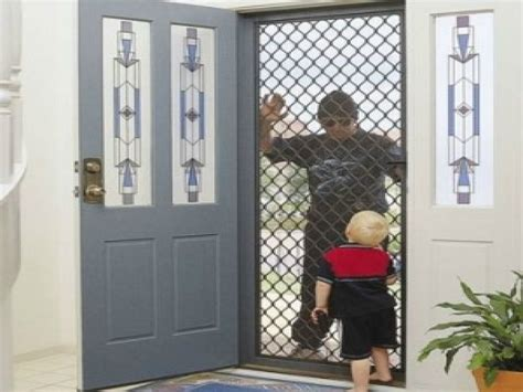 Large glass doors residential, security screen doors titan