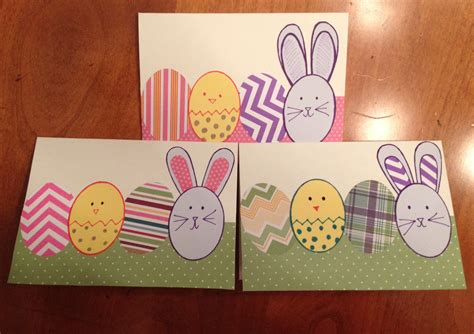 easy easter cards to make easy easter cards working against guiltworking