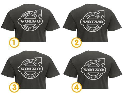 volvo tshirt truckjunkie your design t shirt volvo