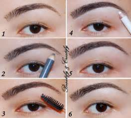 how to color in eyebrows beautify and creatify four different ways to fill in and