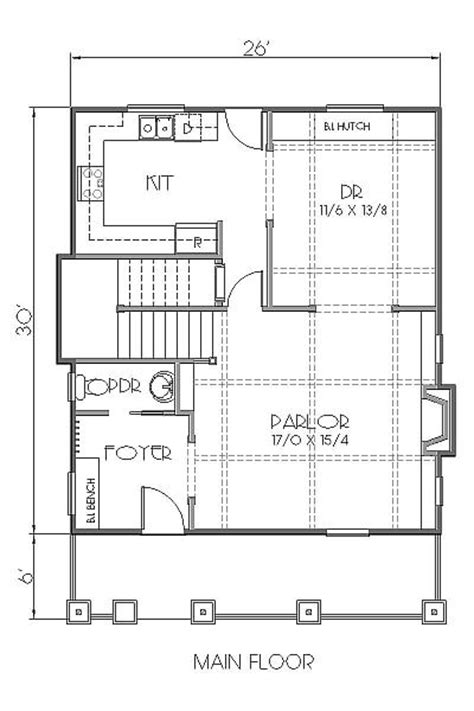 Split Floor Plan house plan 76813 at familyhomeplans com