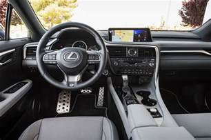 lexus 2018 lexus rx 350 f sport interior colors 2018