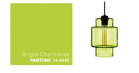 pantone color of the day chartreuse pendant lights correspond with pantone s color