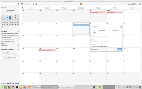 Calendar Search Extension In Search Of A Linux Calendar Foss