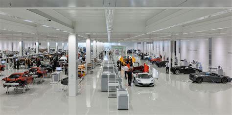 mclaren facility david cameron opens new mclaren production centre