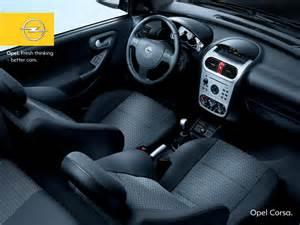 Opel Corsa C Interior Opel Corsa C