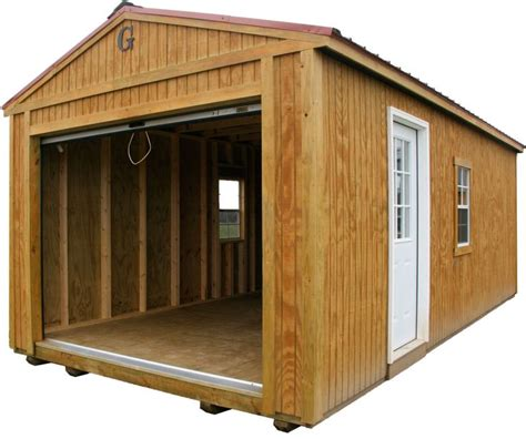 Garage Portable Buildings by Open Garage Portable Building By Big B Buildings Big B