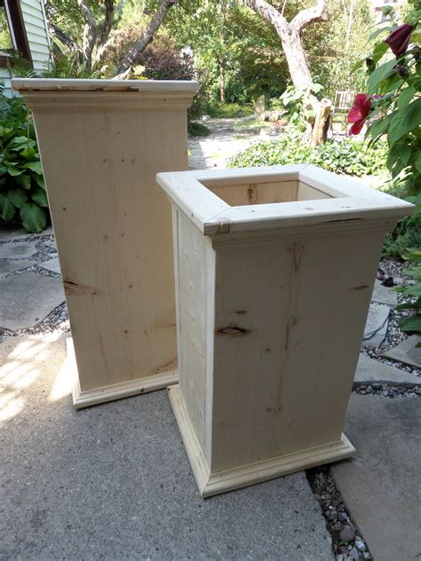 ana white garden planter boxes diy projects