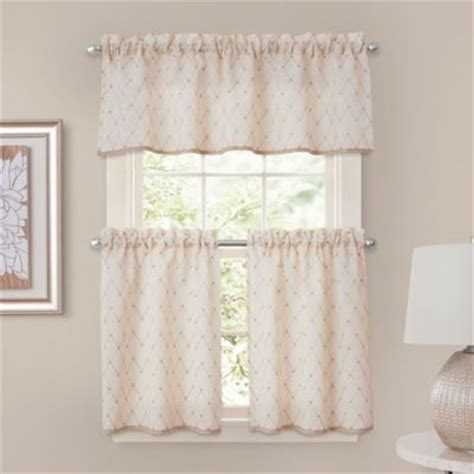 tier curtains for bedroom buy bedroom window curtains from bed bath beyond