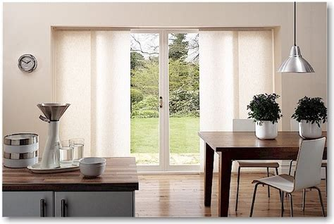 Sliding Panel Blinds For Sliding Glass Door Blinds Brand Sheerweave Sliding Panels Modern Kitchen By Blinds