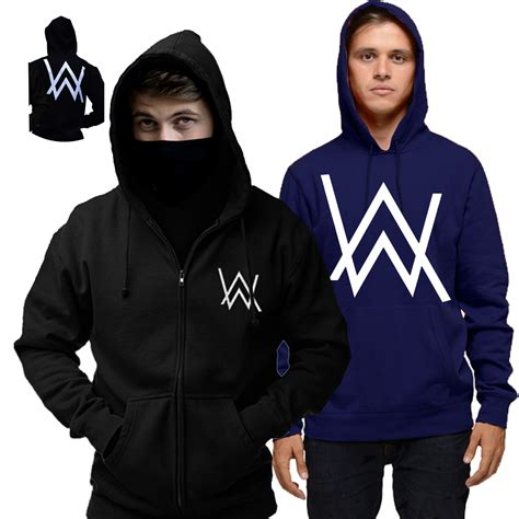 Jaket Zipper Hoodie Sweater Dj Kygo Hitam 2 sweater pria alan walker zipper hodie cotton fleece daftar update harga terbaru indonesia