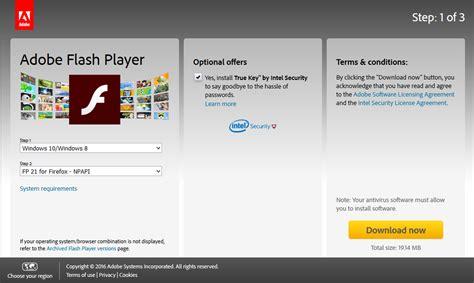 download adobe flash player windows 10 64 bit flash player 64 bit or windows 10 at searchr net
