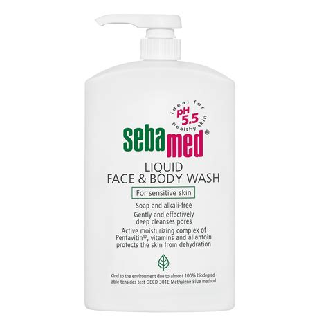 sebamed liquid wash for sensitive skin 1 litre