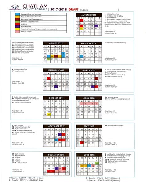 Chatham County Schools Calendar Chatham County Schools Homepage