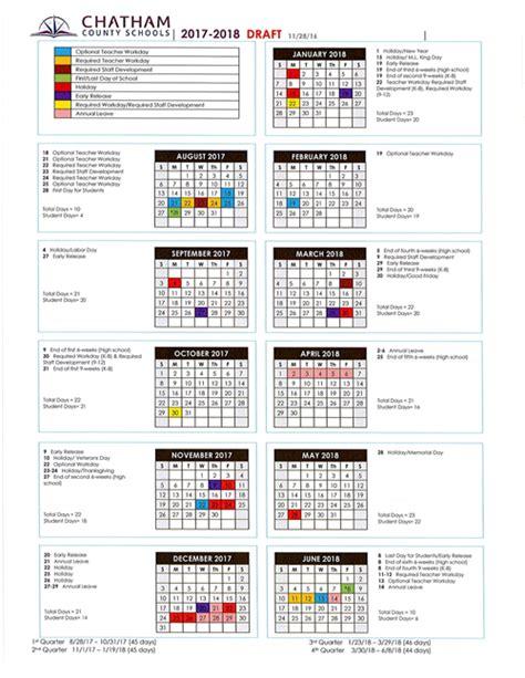 Chatham County School Calendar Chatham County Schools Homepage