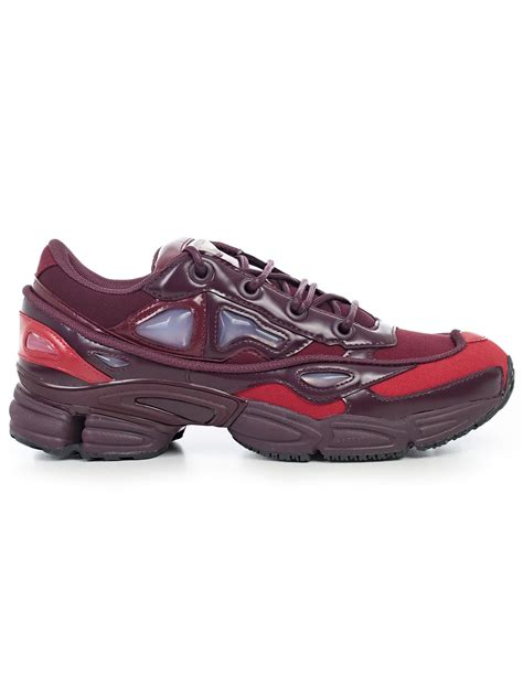 raf simons shoes uk adidas x raf simons sneakers b22538 burgundy bernardelli store fashion store for