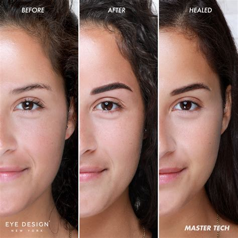 microshading eyebrow treatment for oily or sensitive skin