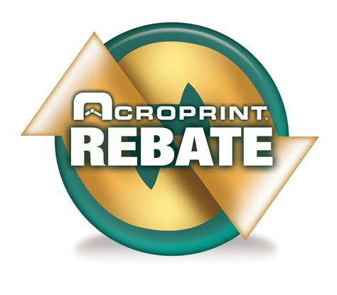 Acroprint Customer Rebate Program Announced 1 800 Contacts Rebates