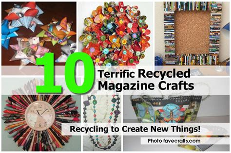 Free Home Decorating Magazines 10 Terrific Recycled Magazine Crafts