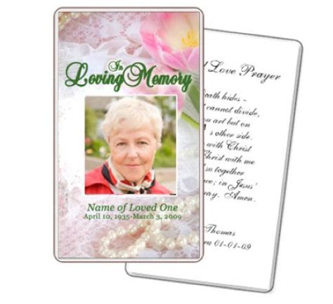 prayer cards for funerals template what to write in funeral cards rocketswag