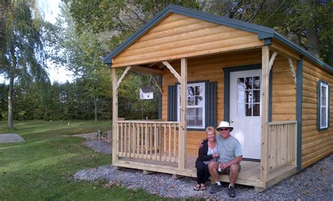 Small Log Home Kits Ontario Prefab Cabins Country Shedsnorth Country Sheds