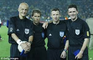 international referee trio matching  blind mouse