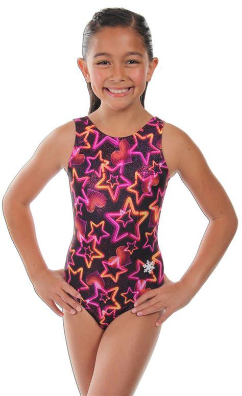girls leotards gymnastics apparel by snowflake designs new vegas lights gymnastics or dance leotard by