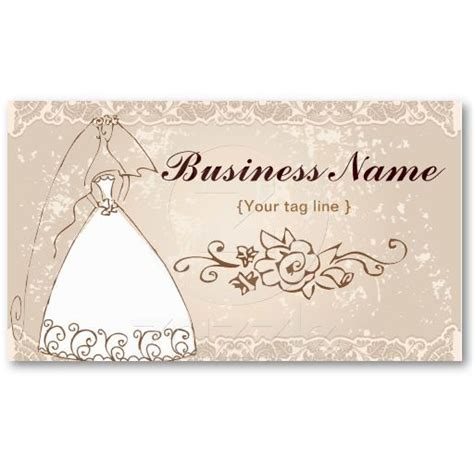 wedding business card template wedding planner business card template