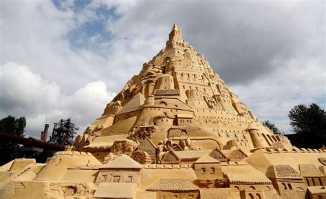 A Castle Of Sand german city claims guinness world record for world s