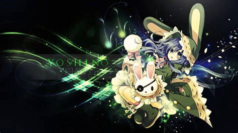 wallpaper anime date a live date a live yoshino computer wallpapers desktop