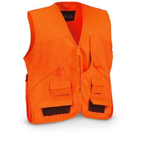 vest orange world sports upland vest 645635