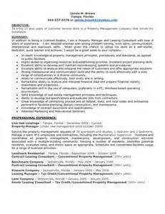 Leasing Specialist Sle Resume by Apartment Leasing Consultant Resume Resume Format
