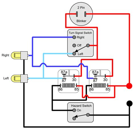 hazard switch wiring diagram motorcycle wiring diagram