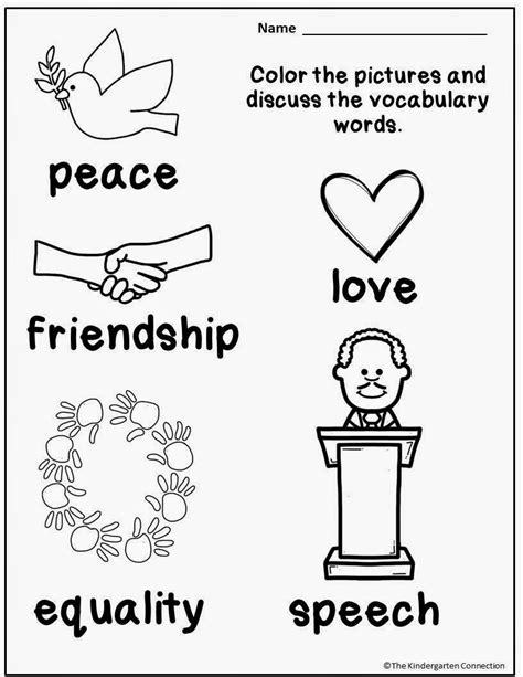 martin luther king jr coloring pages for kindergarten honoring martin luther king jr and a freebie