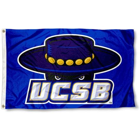 ucsb colors ucsb gauchos blue flag and ucsb gauchos blue flags