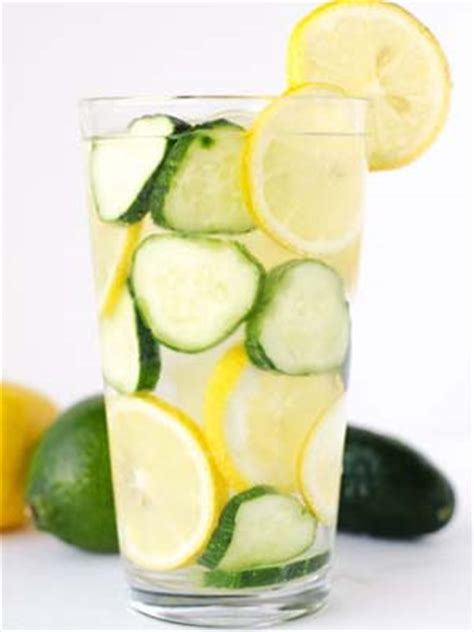 Lemon Cucumber Mint Water Detox Reviews by Cucumber Lemon Mint Water Benefits