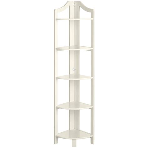 clifton corner shelf antique white pier 1 imports